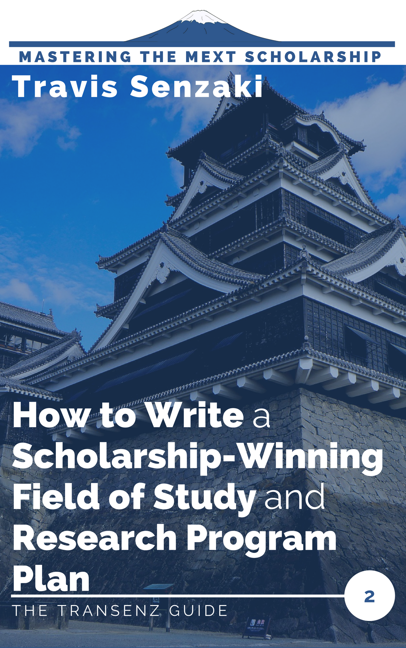 How to write the field of study and research program plan MEXT scholarship guide ebook
