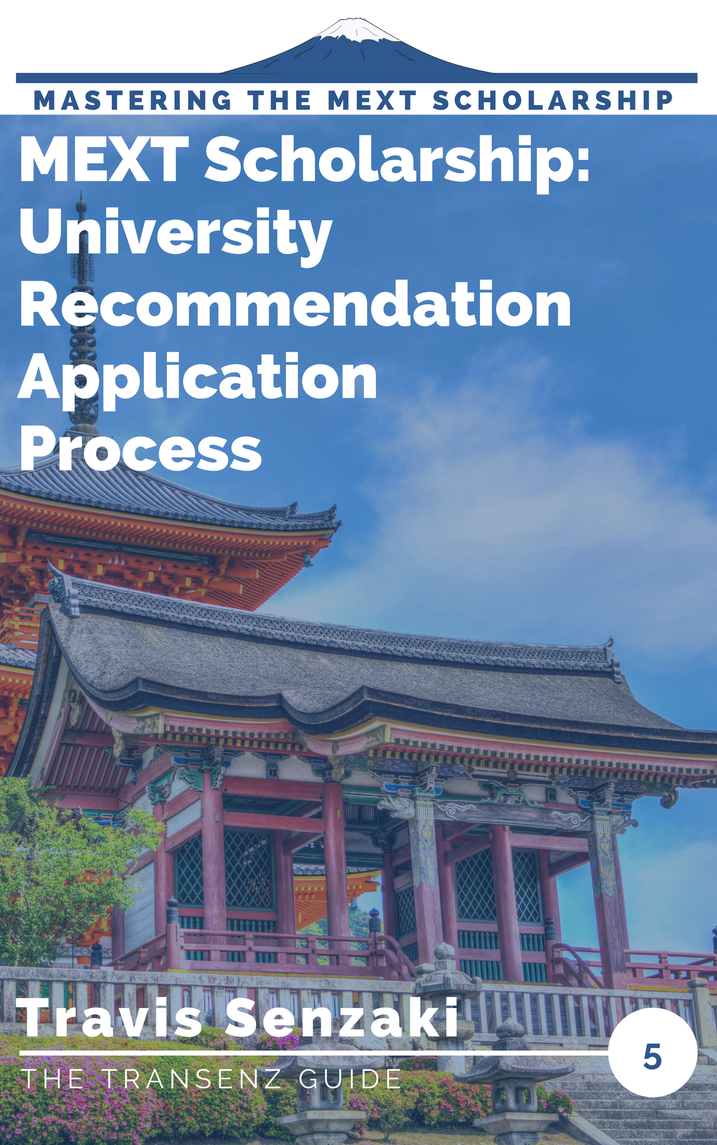 How to apply for the MEXT scholarship by university recommendation guide ebook