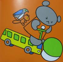 Koguma-chan crashing his bus
