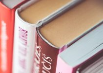 MEXT scholarship FAQ books in shelf