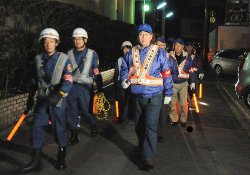 A Hi no Youjin patrol in kyoto